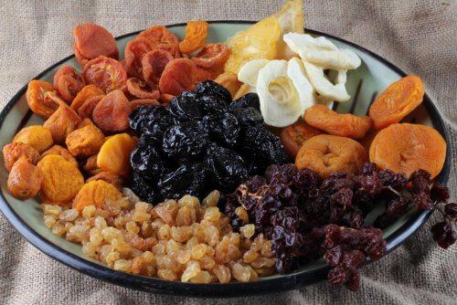 Bienfaits des fruits déshydratés